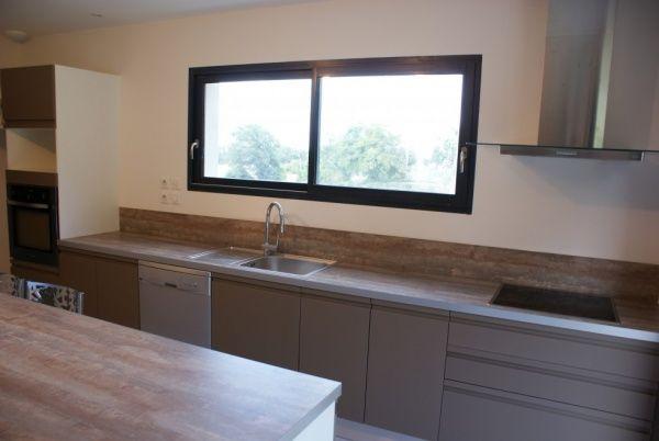 cuisine poign es int gr es pinterest fenetre panoramique lineaires et principal. Black Bedroom Furniture Sets. Home Design Ideas