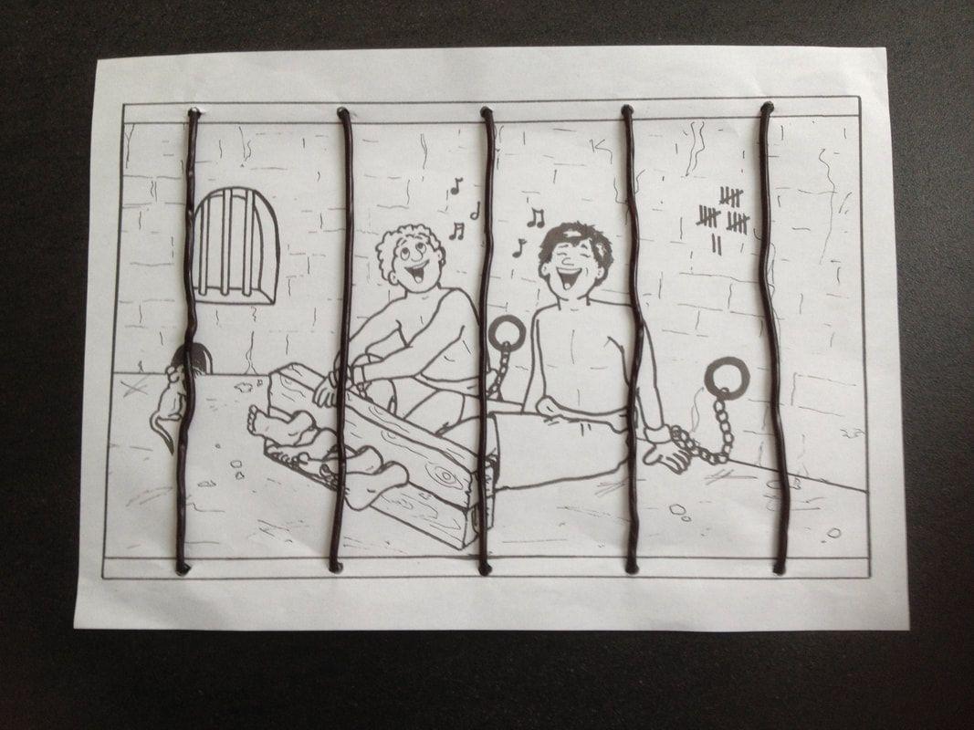 Paulus En Silas In De Gevangenis Gevangenis Kinderboeken Werkjes