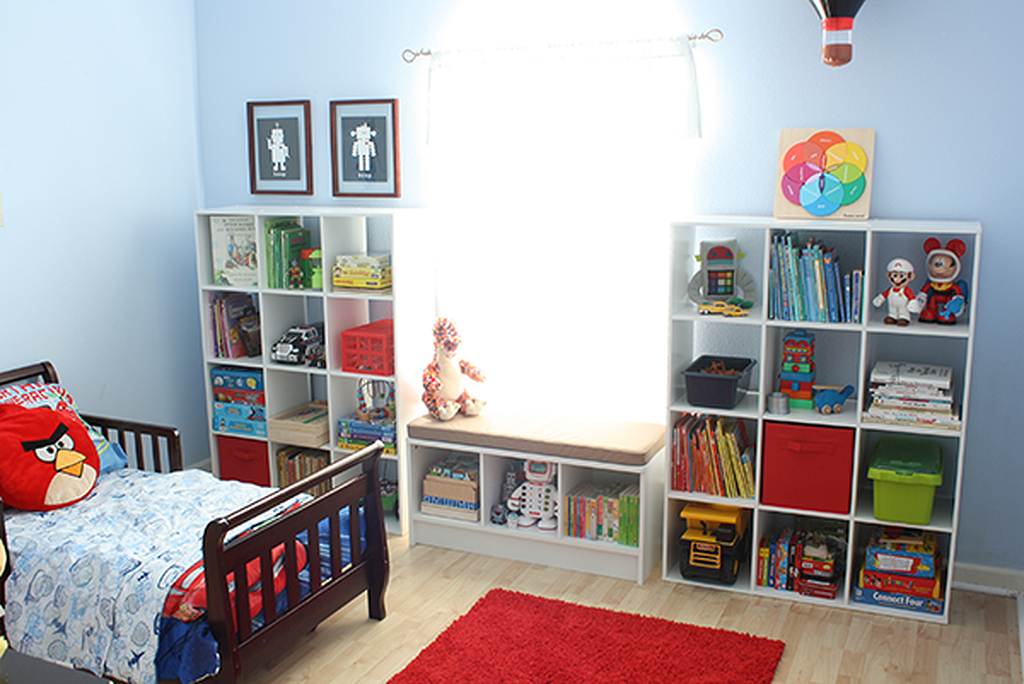 Clever Ideas And Hacks To Organize Your Childs Room(8) images