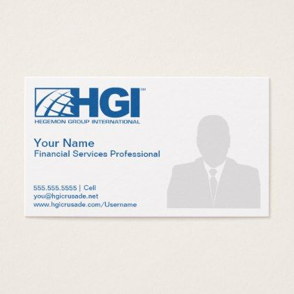 Hgi Financial Services Professional Photo Card Photo Gifts Cyo Photos Personalize Business Card Branding Mini Business Card Professional Business Cards