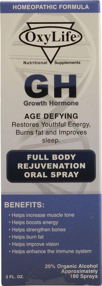Oxylife Growth Hormone -- 2 fl oz