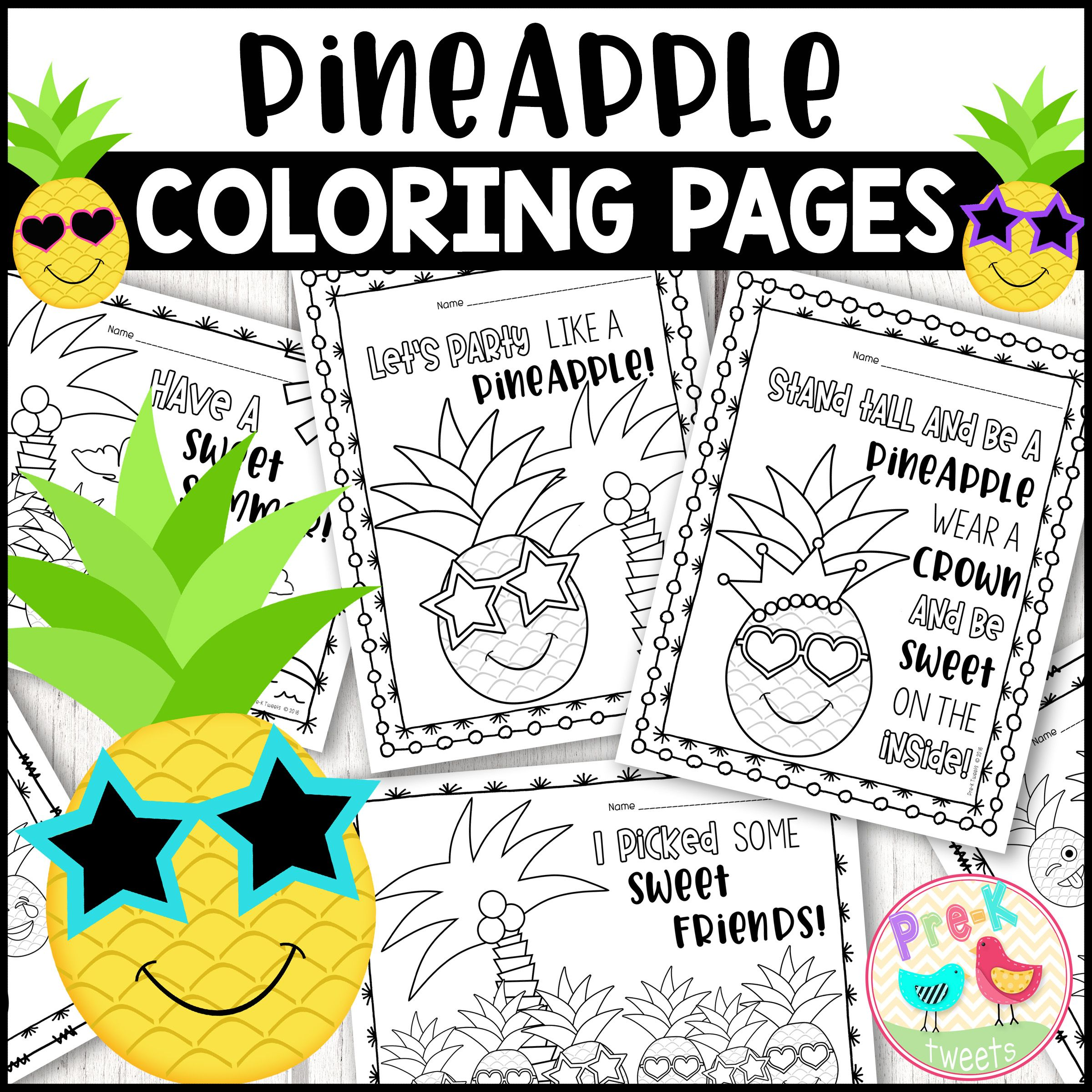 Pineapple Coloring Pages Coloring Pages Pineapple Girl Pineapple