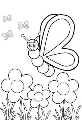 Insect Coloring Pages Insect Coloring Pages Butterfly Coloring Page Bug Coloring Pages