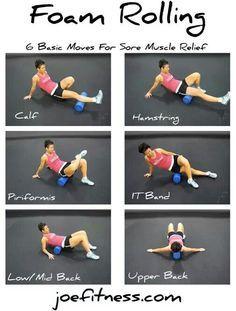 neck foam roller exercises - Google Search