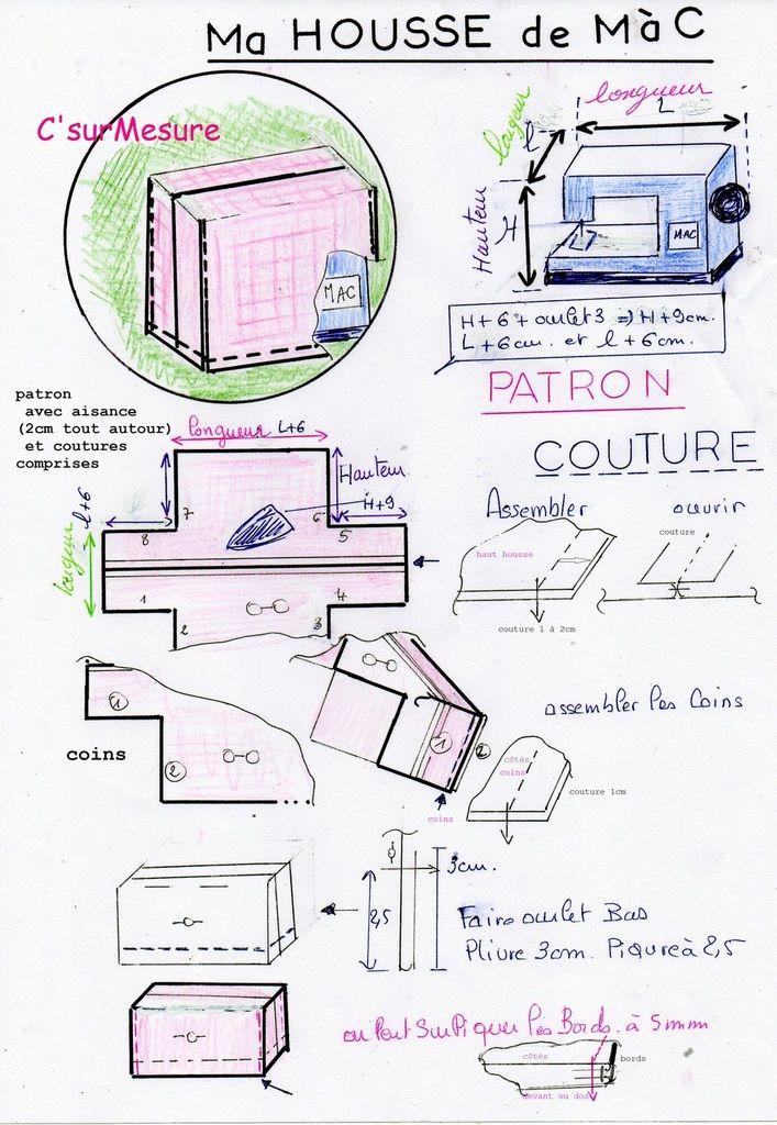 je fais ma housse de m c housse machine a coudre pinterest. Black Bedroom Furniture Sets. Home Design Ideas