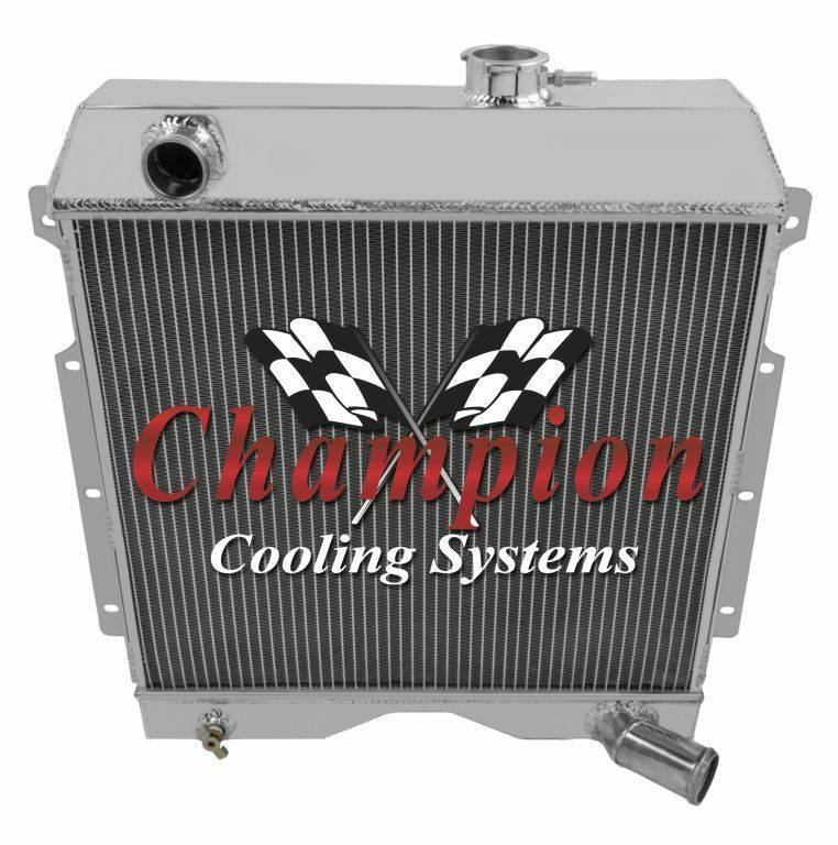 Willys Truck Willys Truckideas Willystruck Champion Cooling 3 Row All Aluminum Replacement Radiator Cc60wl