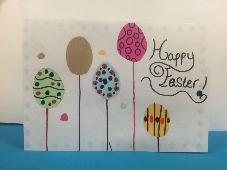 Gartreeadt Incredible Easter Card Ideasyear 6 Ks2 Within Easter Card Template Ks2