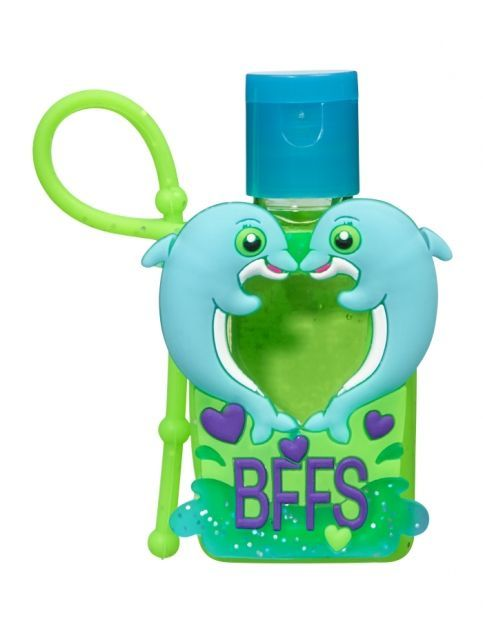Justice Hand Sanitizer Case Bff Dolphins Anti Bac Girls