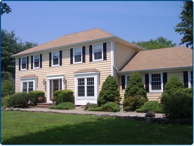 Before And After Colonial Home Exterior Makeover Google