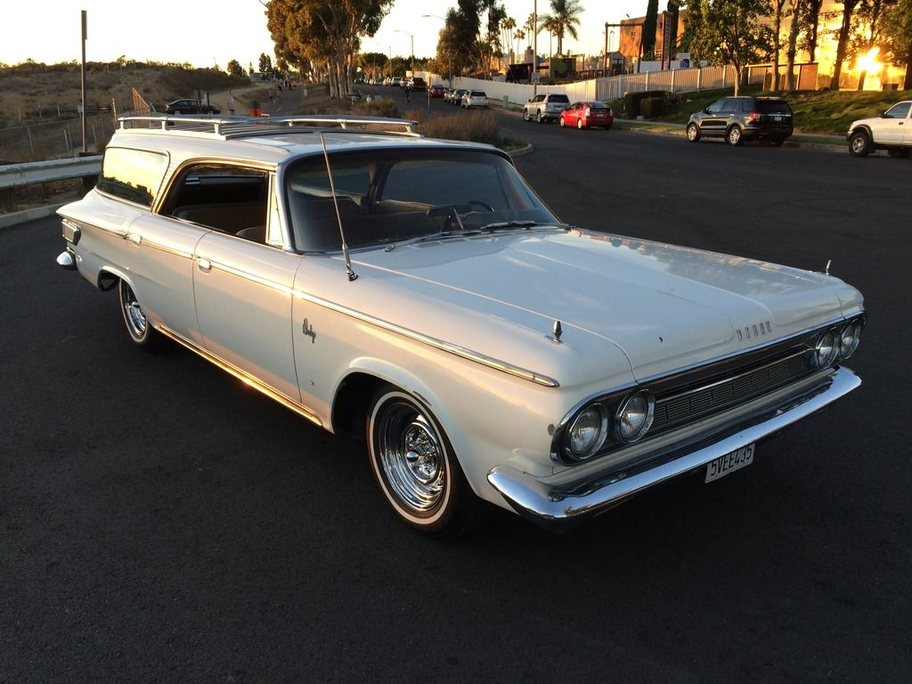 No Pillars 1964 Dodge Custom 880 Hardtop Station Wagon