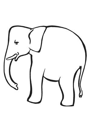 Ausmalbild Kleiner Elefant Zum Ausmalen Ausmalbilder Ausmalbilderelefanten Malvorlagen Ausmalen Schule Ausmalen Elefant Ausmalbild Ausmalbilder