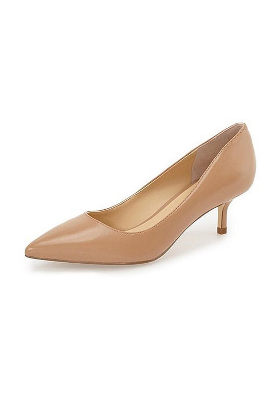 7ec41f3088 Ivanka Trump Athyna Kitten Heel Nude A svelte pointy toe and classic kitten  heel combine for a perennially chic pump. 2 1/4