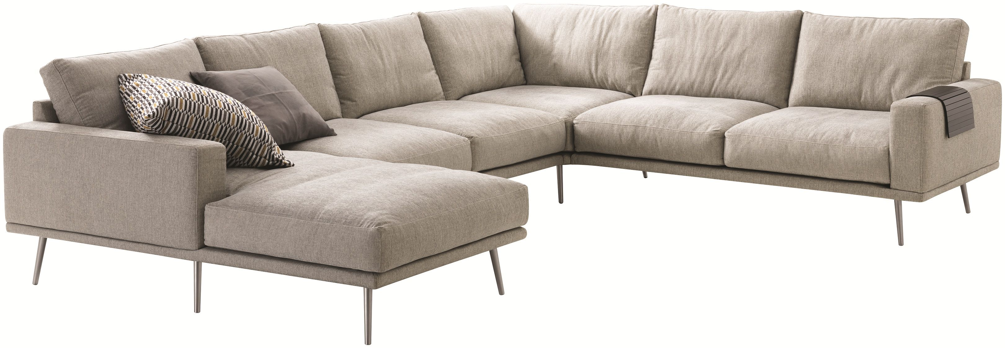 Corner sofa with resting unit Carlton Sofa