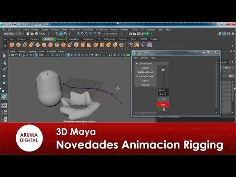 3D Maya Novedades version 2016 003 Animacion y rigging - YouTube