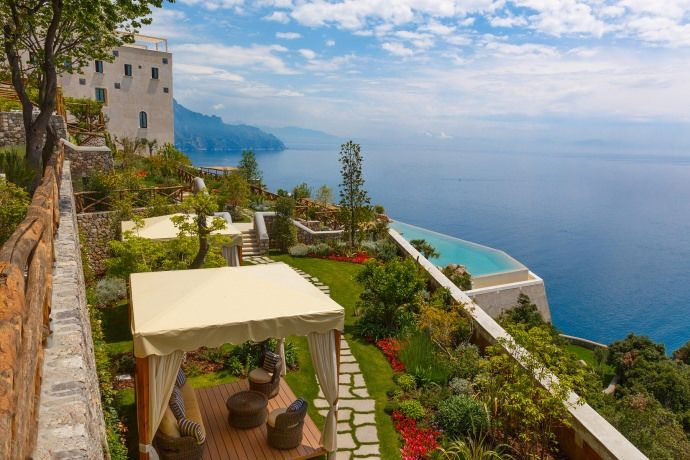 Find Beauty and Spirituality in the Monastero Santa Rosa Hotel & Spa, Italy
