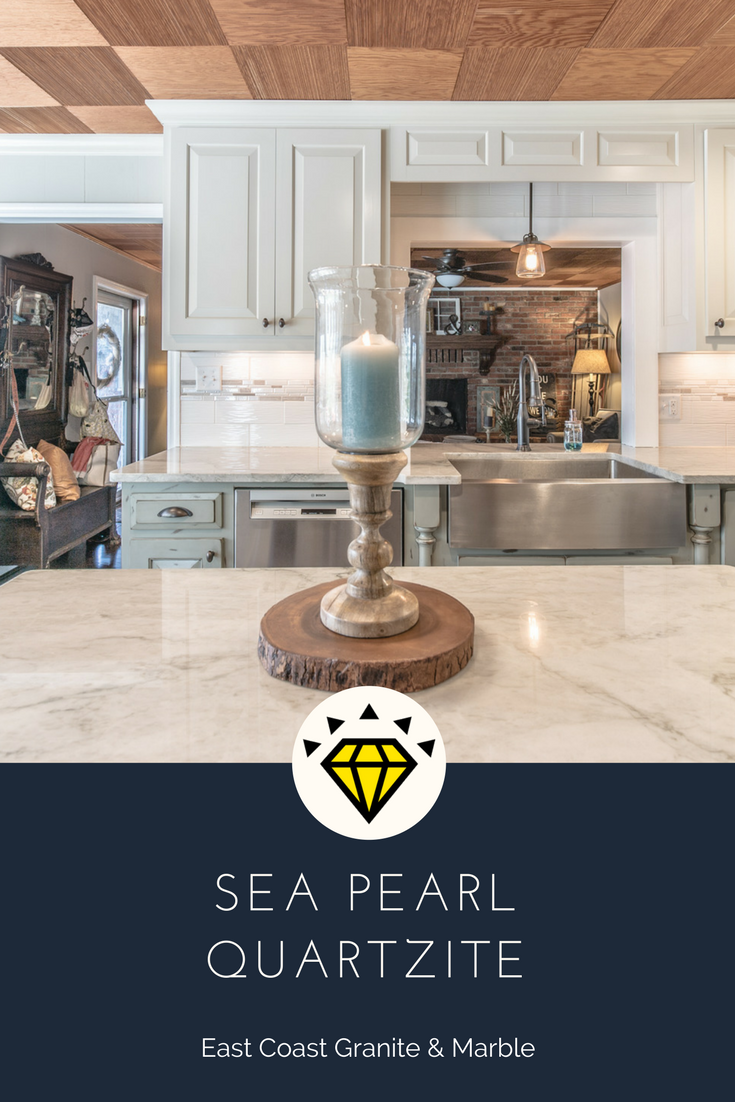 This Stone Is A Sea Pearl Quartzite. Visit Us At  Www.eastcoastgranitecolumbia.com To See More Of Our Work. #quartzite # Countertops #kitchencountertops ...