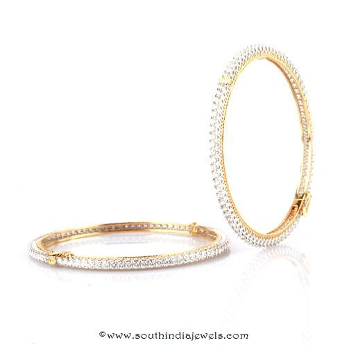 Diamond Bangle Design from Bhima Jewellery   bangles ...