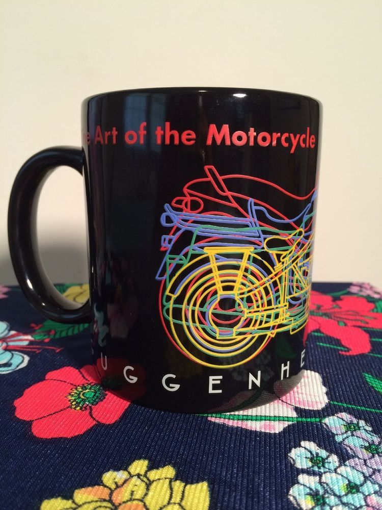 Guggenheim Museum BMW The Art Of The Motorcycle Exhibit Coffee Mug 1998