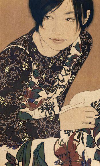 Manami 池永康晟  http://ikenaga-yasunari.com/paintings/manami.html