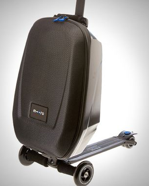 Luggage With Built-In Scooter