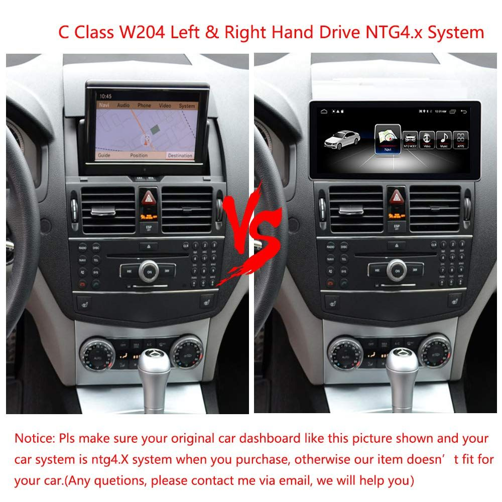 Road Top 10 25 Car Navigation Touch Screen For Mercedes Benz C Clk