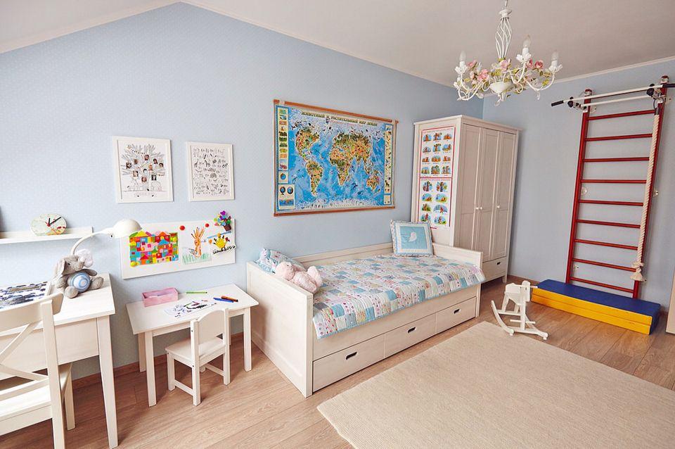 Расположение мебели в детской, фото 2 (с изображениями ...