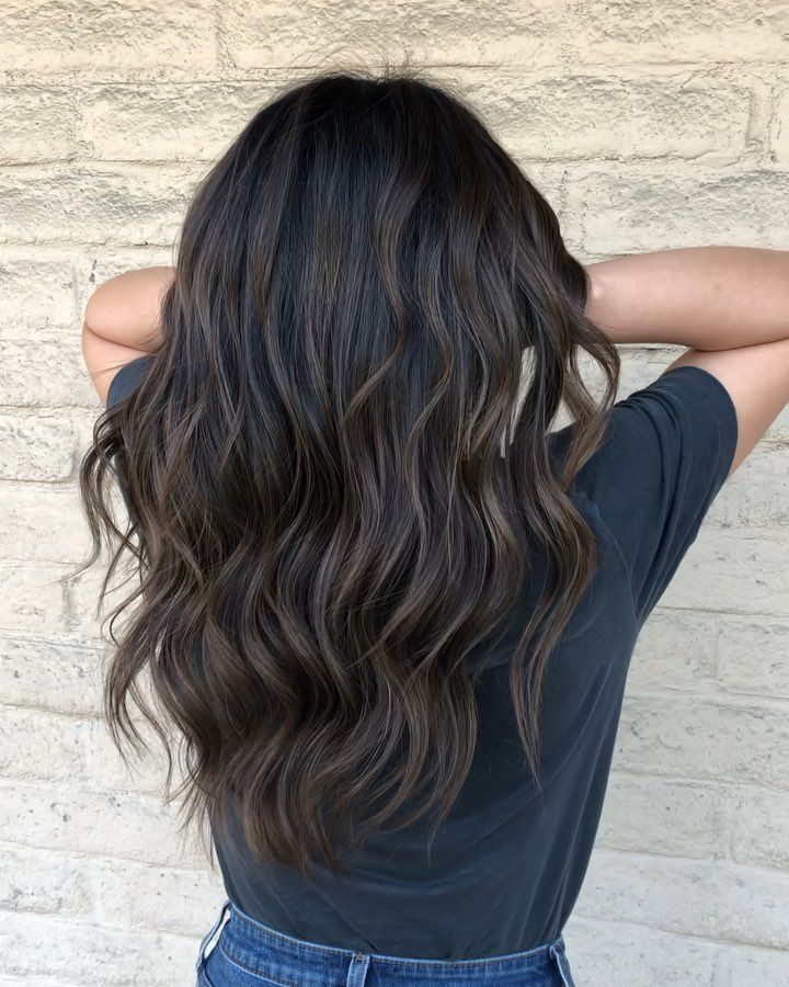 Subtle dimensional neutral brunette