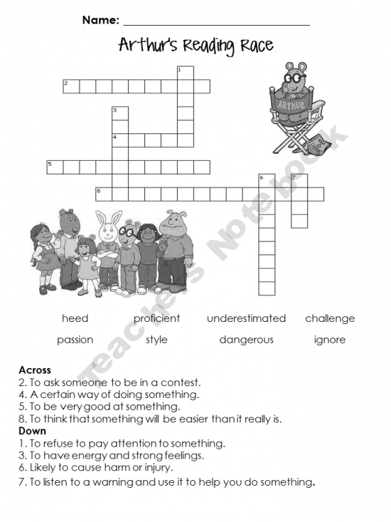 2nd Grade Storytown Vocabulary Crossword Puzzles | PreK-2nd Grade ...