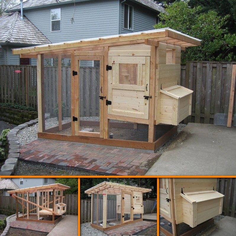 Pin By The Owner-Builder Network On Chicken Coops