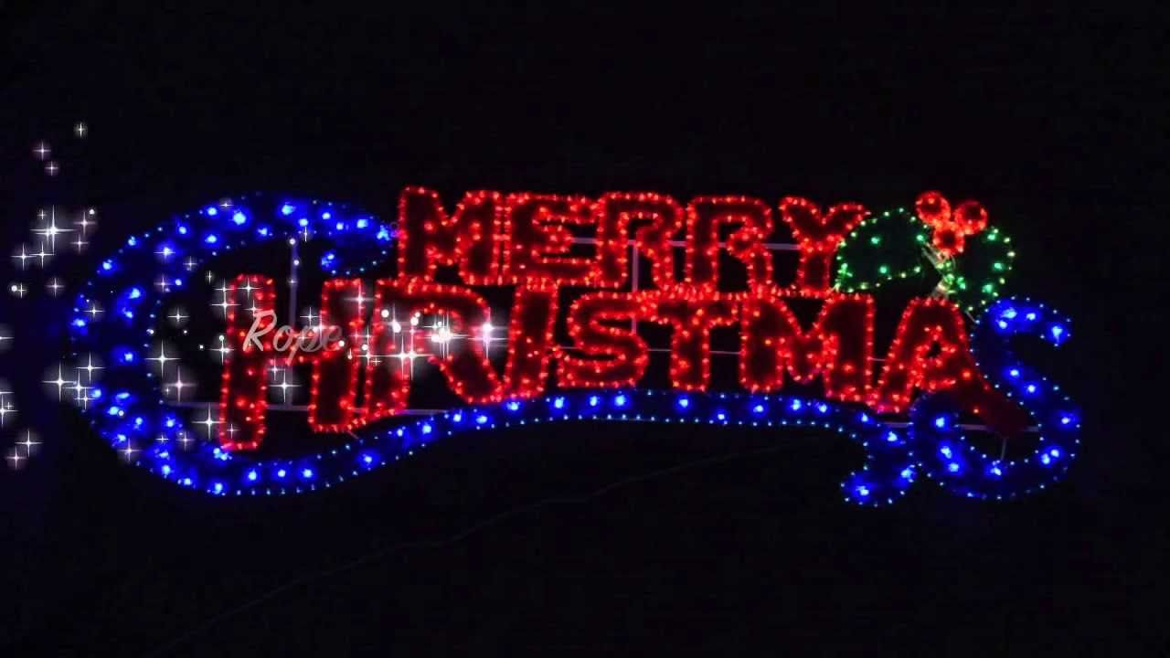 Rope Light Merry Christmas Sign Xs1633 Merry Christmas Sign Christmas Lights New Christmas Lights