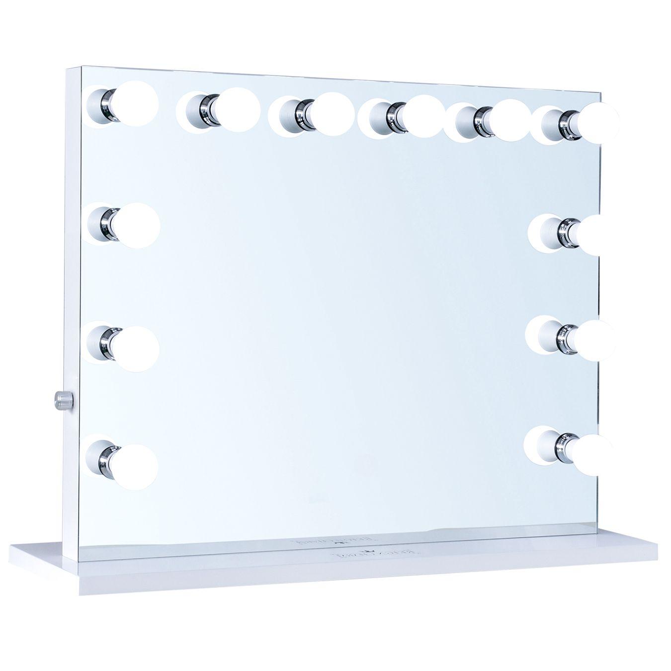 Reigncharm Hollywood Vanity Mirror 12 Led Lights Dual Outlets Usb 32 W X 27 H Walmart Com Hollywood Vanity Mirror Vanity Mirror Hollywood Vanity