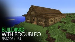 How To Build A Horse Barn In Minecraft Youtube Minecraft