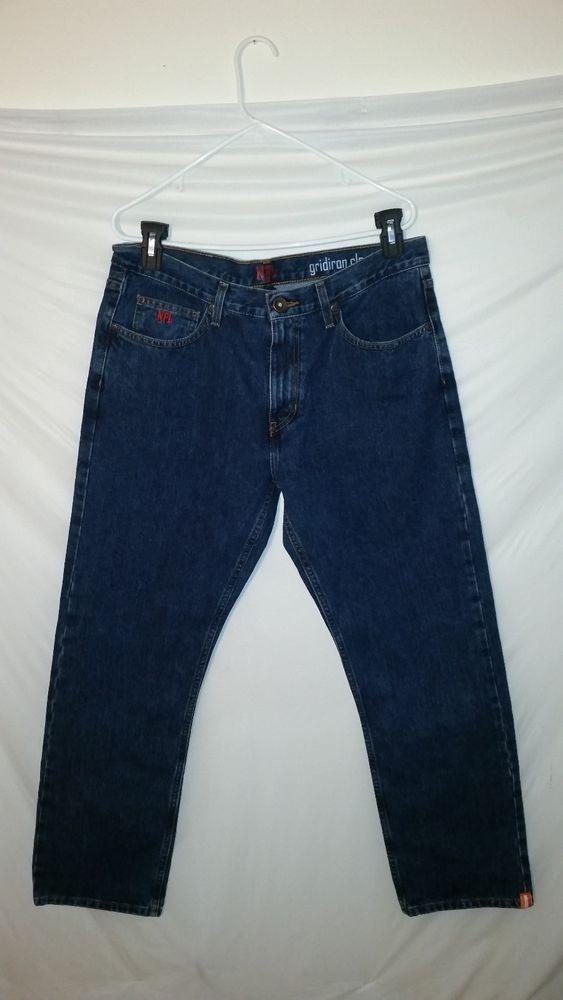 dbeab52e Mens NFL Chicago Bears Gridiron Classic Blue Jeans Pants 34 x 30 ...