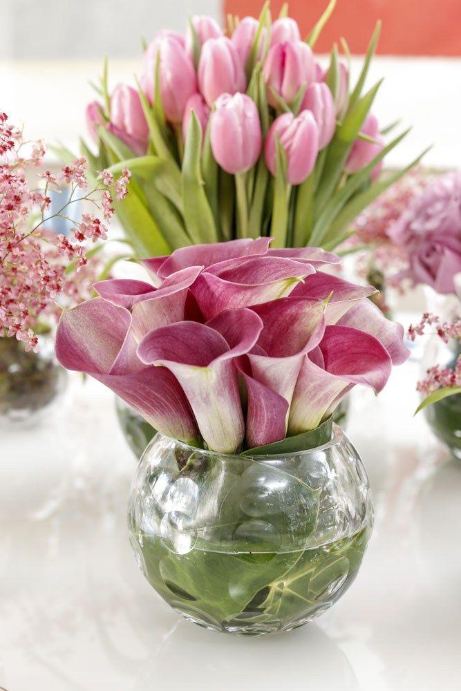 Para Receber Quem A Gente Ama Arranjos De Flores Bonitos