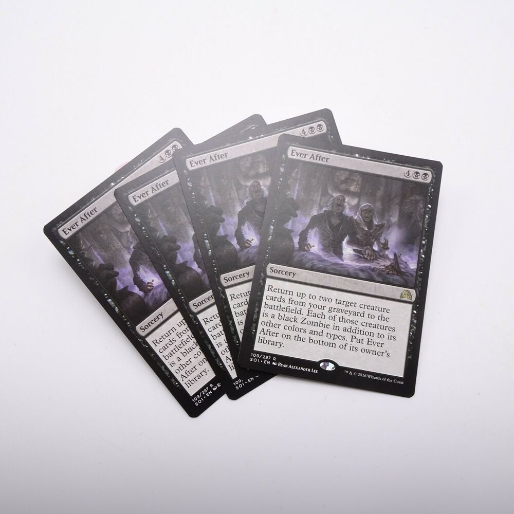 Ever After X4 M//NM Magic The Gathering MTG Shadows Over Innistrad
