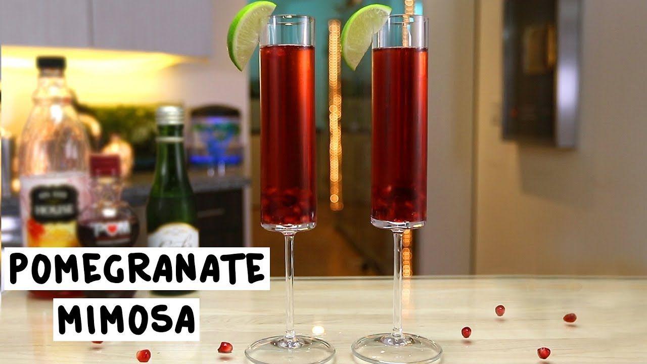 Pomegranate Mimosa Tipsy Bartender Recipe Pomegranate Mimosa Pomegranate Pomegranate Seeds
