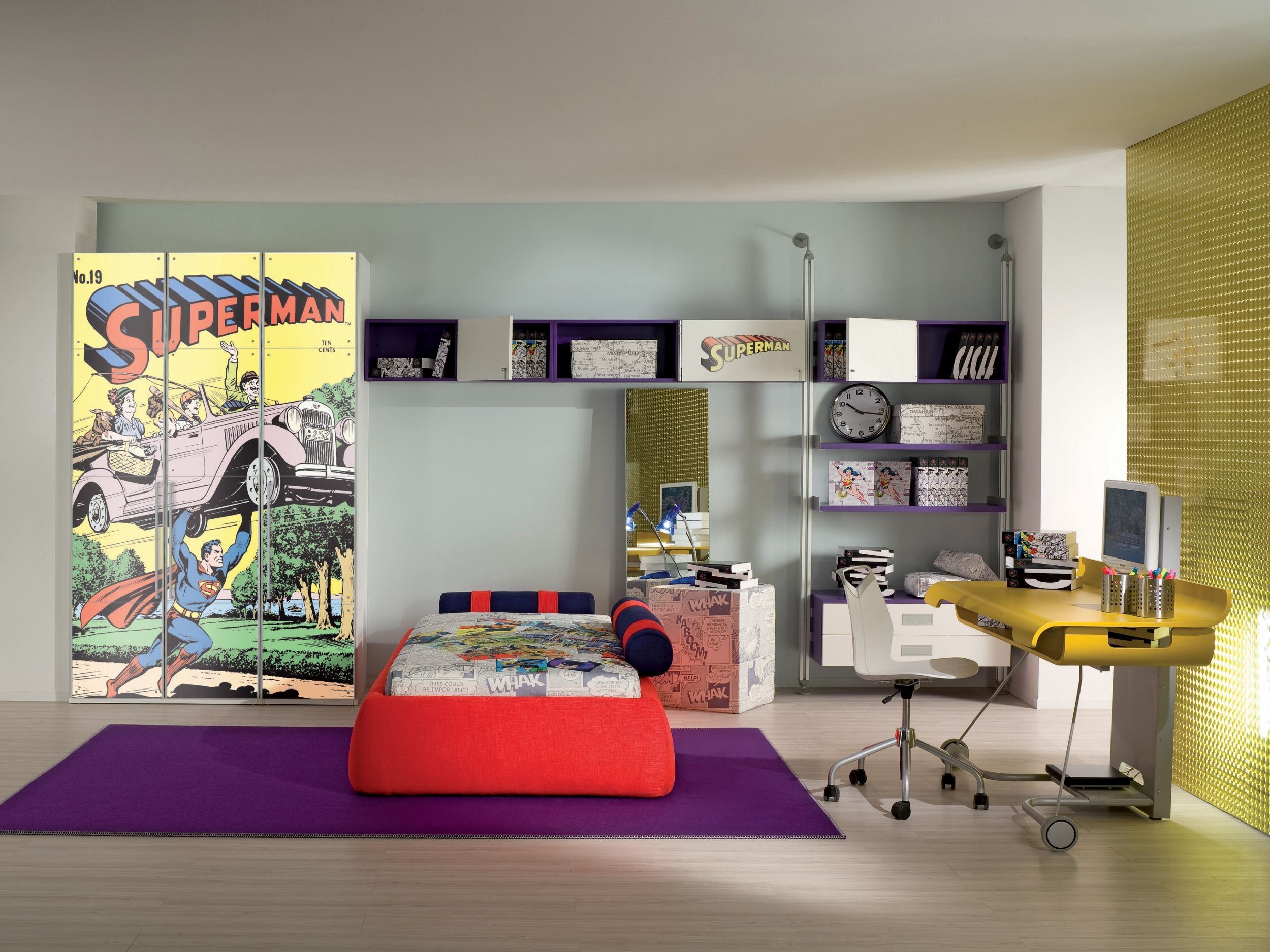 Superman Theme Room Of A Great Poster Print Ideas For