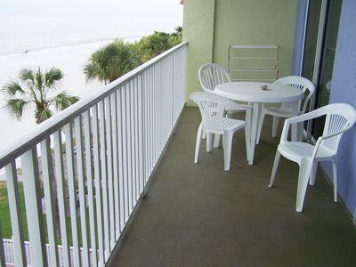 Balcony of a 3 bedroom condo