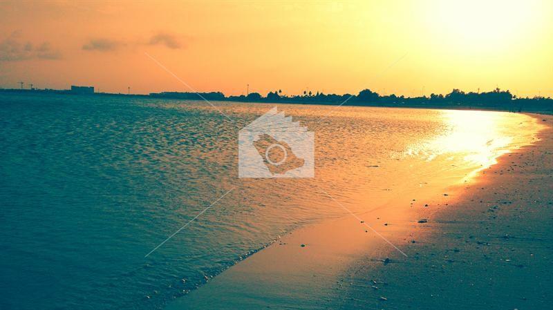 شاطئ الجبيل Celestial Outdoor Sunset