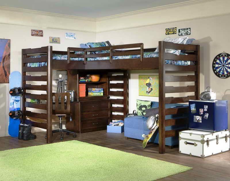 Queen Size Loft Bed - http://www.elenecassis.com/queen-size-loft-bed ...
