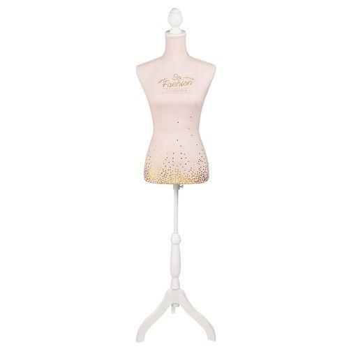 SPARKLE - Mannequin couture en tissu rose La vie en Rose Pinterest