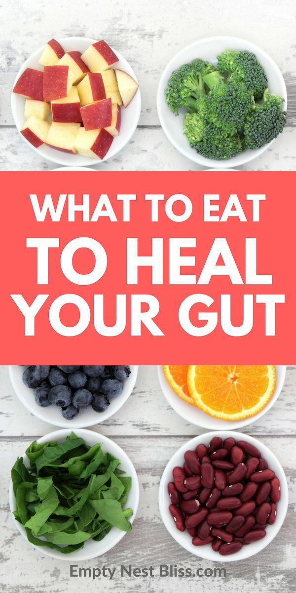 What are the best foods to eat to heal your gut and restore your gut health Tips and food lists to make healing your gut easier