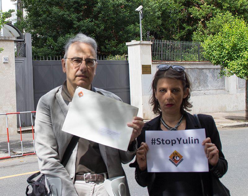 #StopYulin: la nostra lettera consegnata all'Ambasciata Cinese - http://bit.ly/28Ikl7u - Pet Community and Social Network