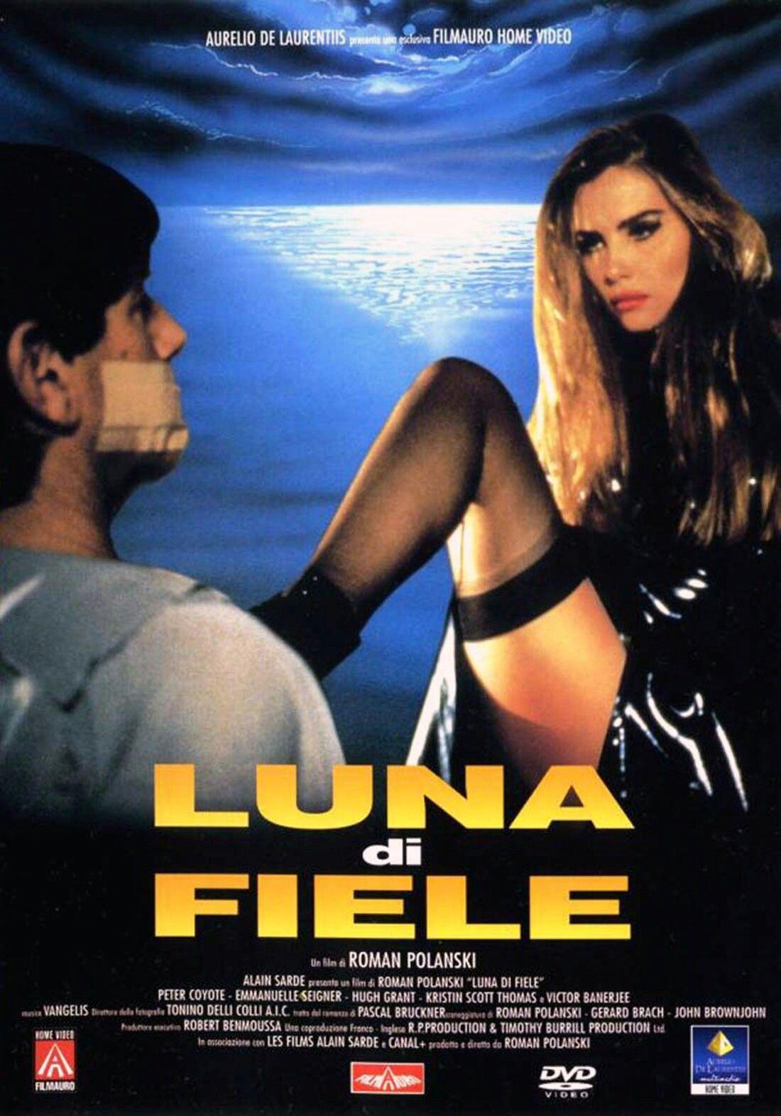 Luna Di Fiele Bitter Moon E Un Film Del 1992prodotto E Diretto Da Roman Polanski Tratto Dal Romanzo Omonimo Di Pascal Bitter Moon Full Movies Roman Polanski