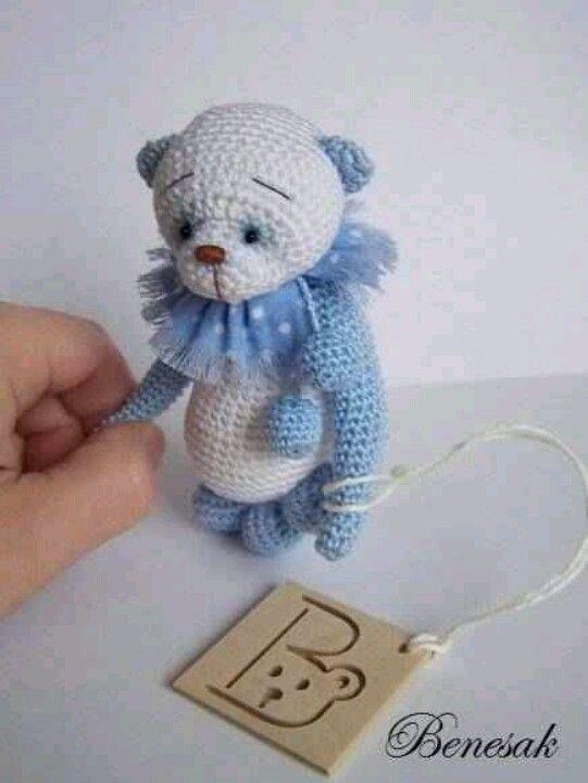 Blue Panda/Benesak/ebay | Patrones osos Amigurumis | Pinterest ...