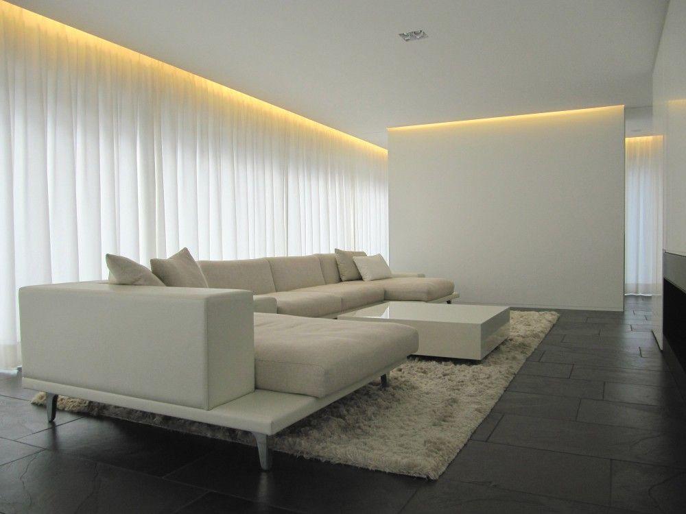 Gallery of villa gfr de jaeghere architectuuratelier 6 for Iluminacion minimalista interiores