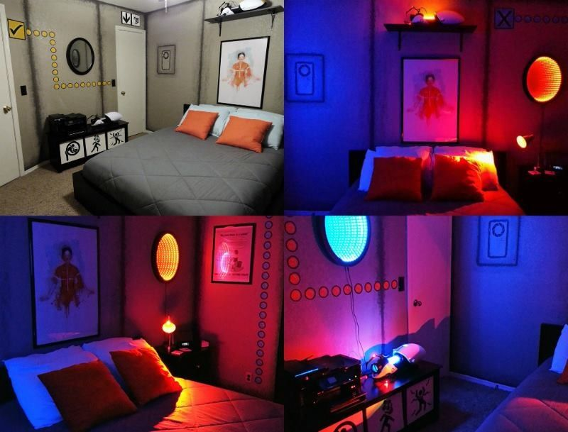 Portal Bedroom wow now thats cool! I want to know where