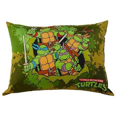 Nickelodeon Teenage Mutant Ninja Turtles Bed Pillow Ninja Turtle Bedroom Turtle Room Teenage Mutant Ninja Turtles Bedroom