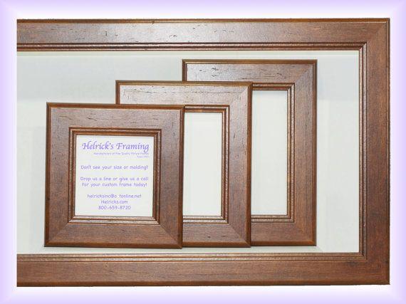 Walnut Picture Frames 4x4 4x6 5x5 5x7 6x6 6x18 7x7 8x8 8x10 8x12