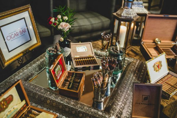 Set up a cigar bar in memory of your loved one...complete with ...
